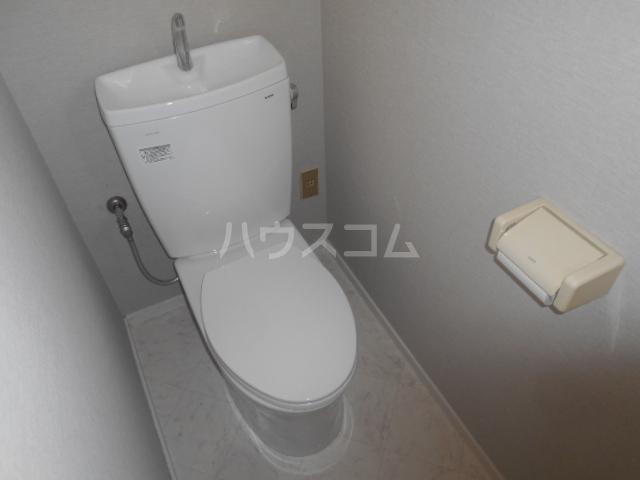 ソレイユガーデンハウス3のトイレ