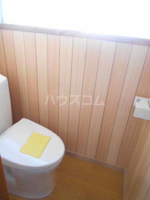 大澤貸家2号棟のトイレ