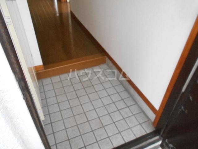 小沢ハイツ 201号室の玄関