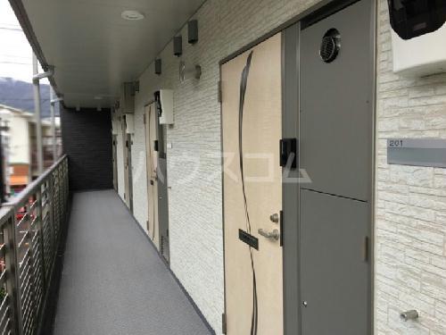クレイノ未来 203号室の玄関