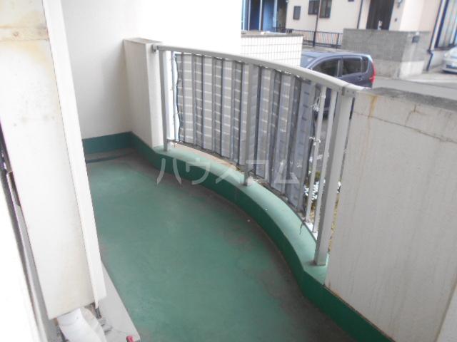 レジデンス浜野Ⅱ 103号室のバルコニー
