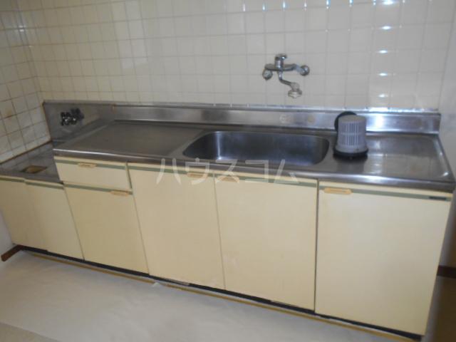 レジデンス浜野Ⅱ 103号室のキッチン