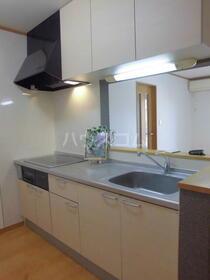 カーサ・ドマーニB 201号室のキッチン