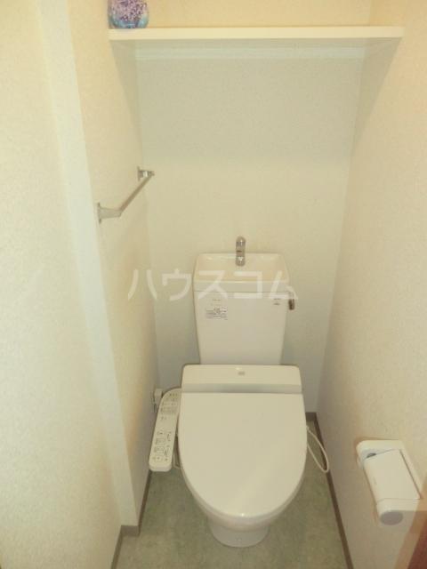 グランドスイート箱根 402号室のトイレ