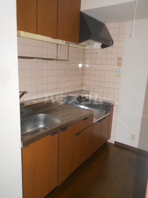 グレースヒル足柄 201号室のキッチン