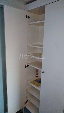 ウエストグレイン 302号室の収納