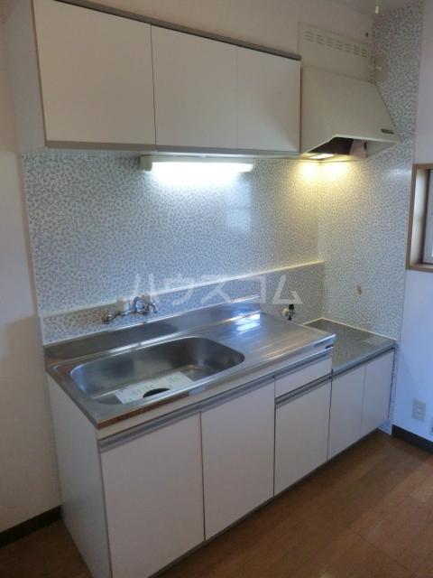 ピュアコート・すみれ 303号室のキッチン
