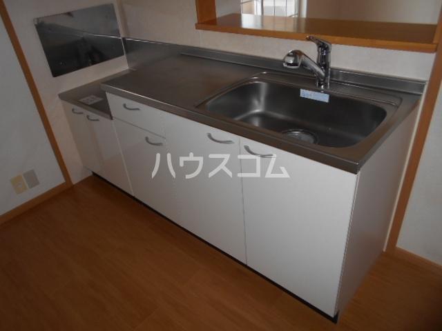 ランドロードクニヤンⅡ 02010号室のキッチン