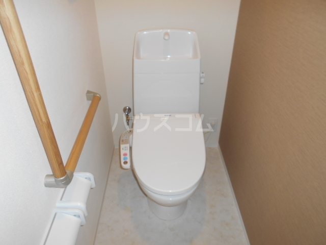 小田原市飯泉マンション新築工事 303号室のトイレ