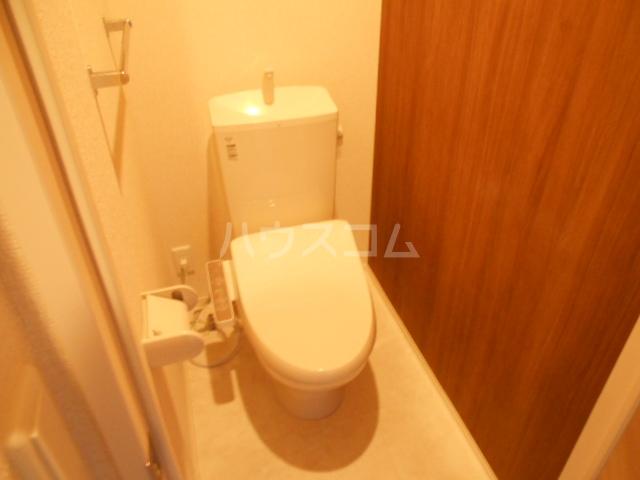 コンフォルト 102号室のトイレ