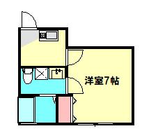 ベルウッド小田原 101号室の間取り