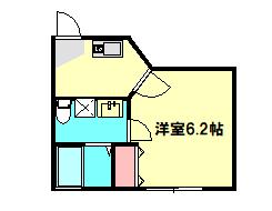 ベルウッド小田原 201号室の間取り