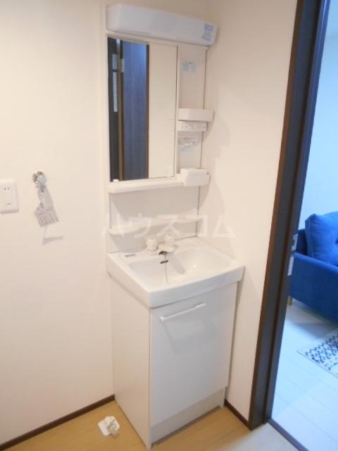 ベルウッド小田原 202号室の洗面所