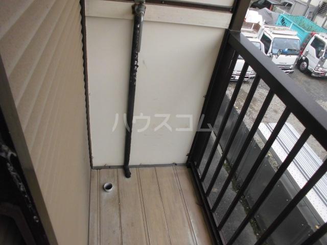 コーポタナベ 202号室のバルコニー
