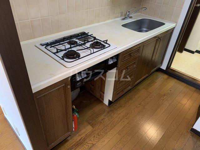 ライオンズガーデン戸塚 201号室のキッチン