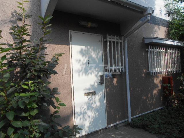 戸塚テラスハウスの玄関