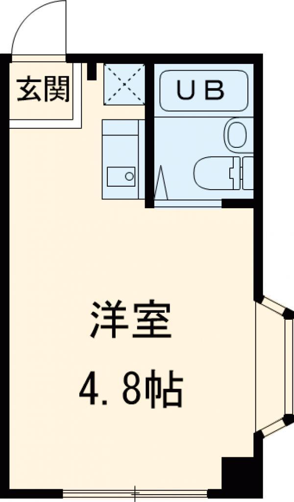メゾン青戸・302号室の間取り