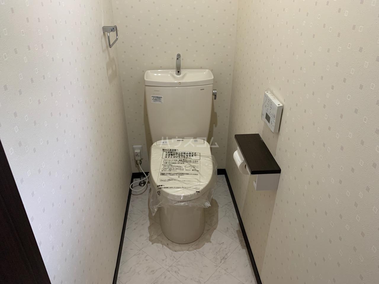 緑園ハウスのトイレ