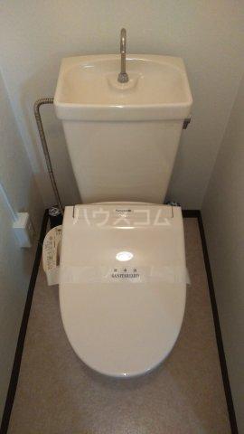 秀宝ビル 203号室のトイレ