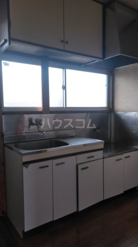 巽荘2号館 6号室のキッチン