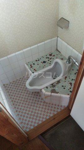 巽荘2号館 6号室のトイレ