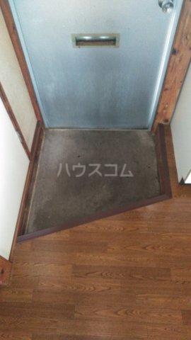 巽荘2号館 6号室の玄関