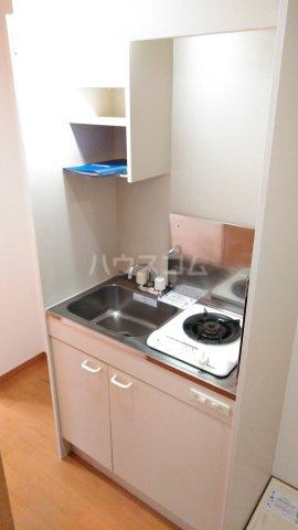 フラット戸塚深谷 204号室のキッチン