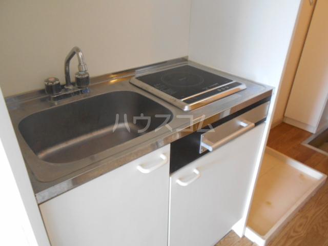 すみれⅢ 202号室のキッチン