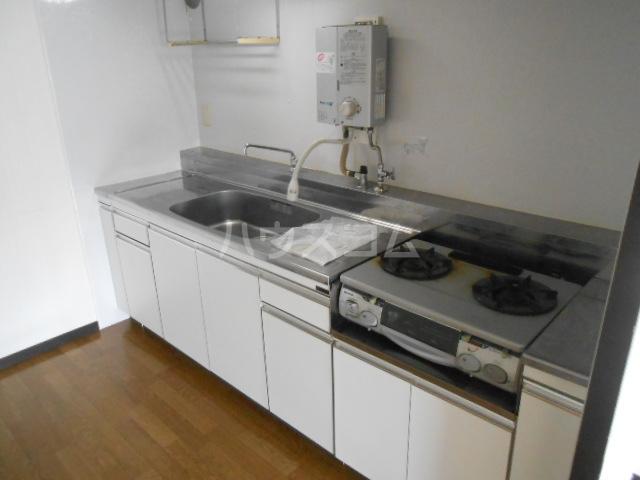 ドリームハイツ9号棟 907号室のキッチン
