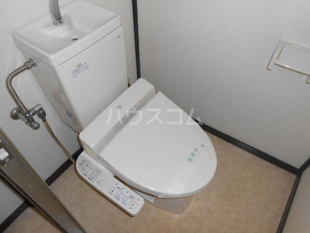 ドリームハイツ9号棟 907号室のトイレ