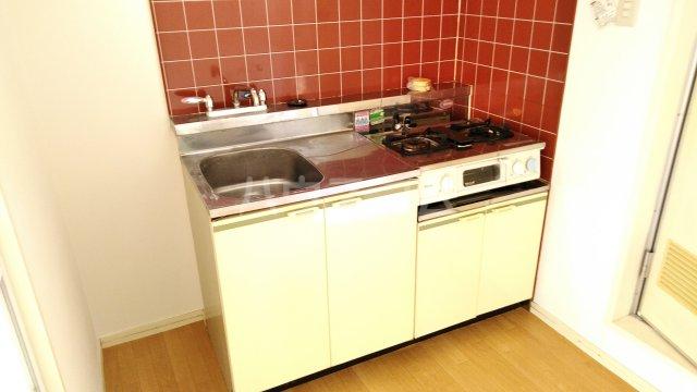 サンパールヒルズ 202号室のキッチン