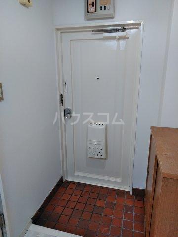 コーポ立花 101号室の玄関