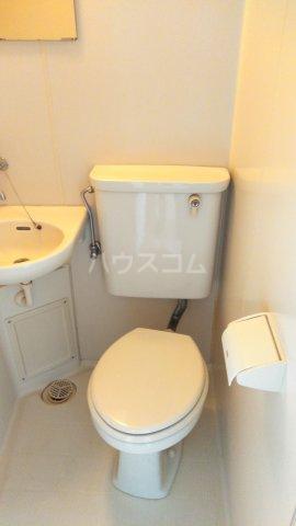 TOP青砥第四 408号室のトイレ
