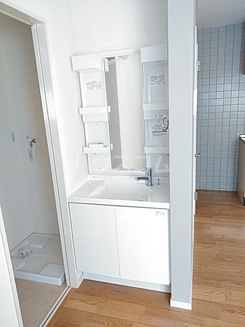 サングレース 102号室の洗面所
