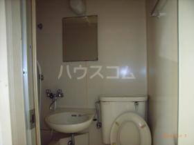 キャッスル宮代 101号室の洗面所