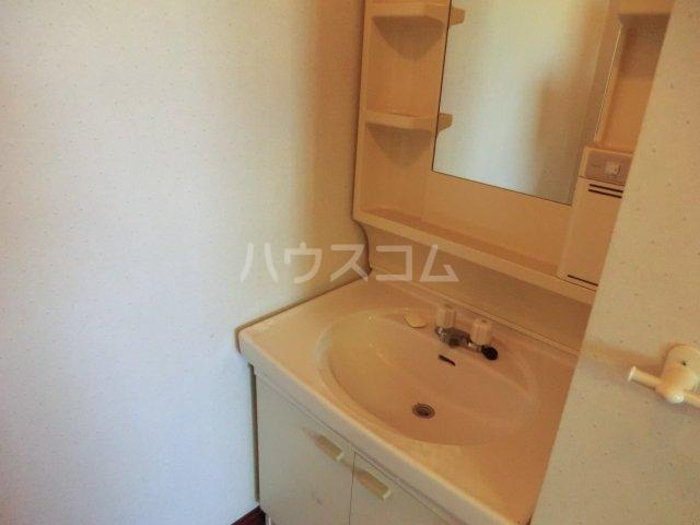 オオツキアパート 302号室の洗面所