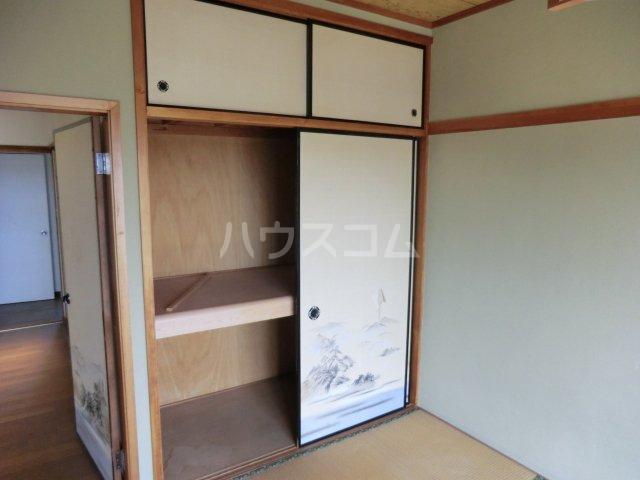 オオツキアパート 302号室の収納