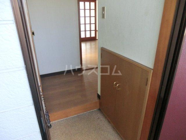 オオツキアパート 302号室の玄関