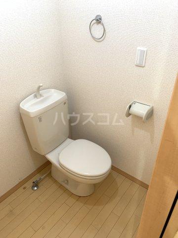 ハーミット横浜 101号室のトイレ