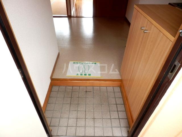 コーポハマ氷川 202号室の玄関