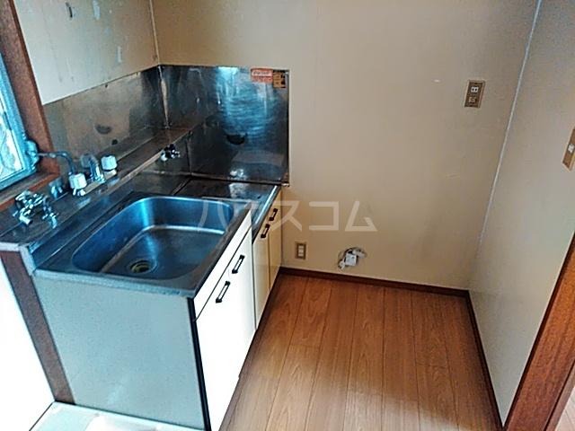 フラットハラ1 202号室のキッチン