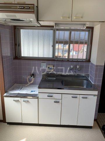 東洋コーポ 301号室のキッチン