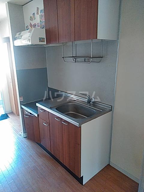 マウイハウス 202号室のキッチン