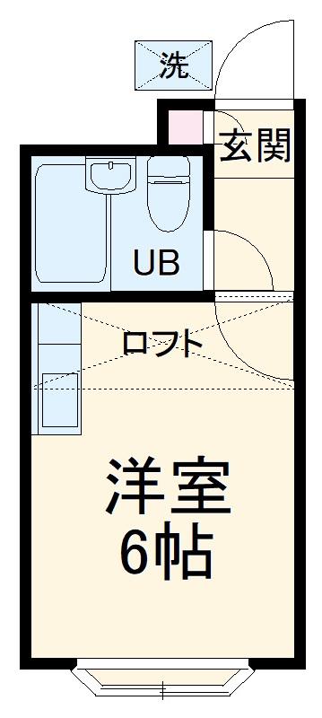 ベルピア姫宮第1・201号室の間取り