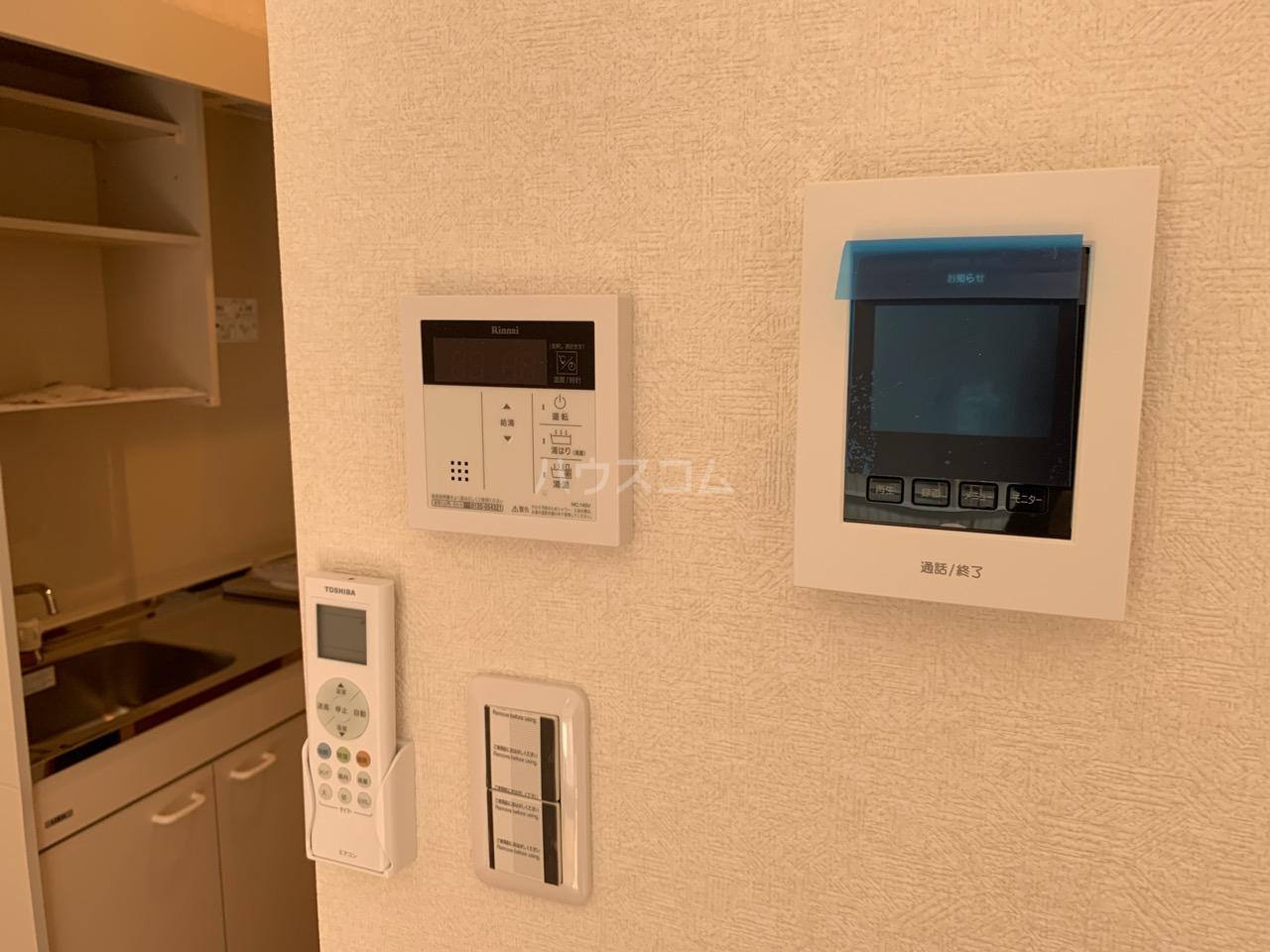 ファインホース白百合 102号室のセキュリティ
