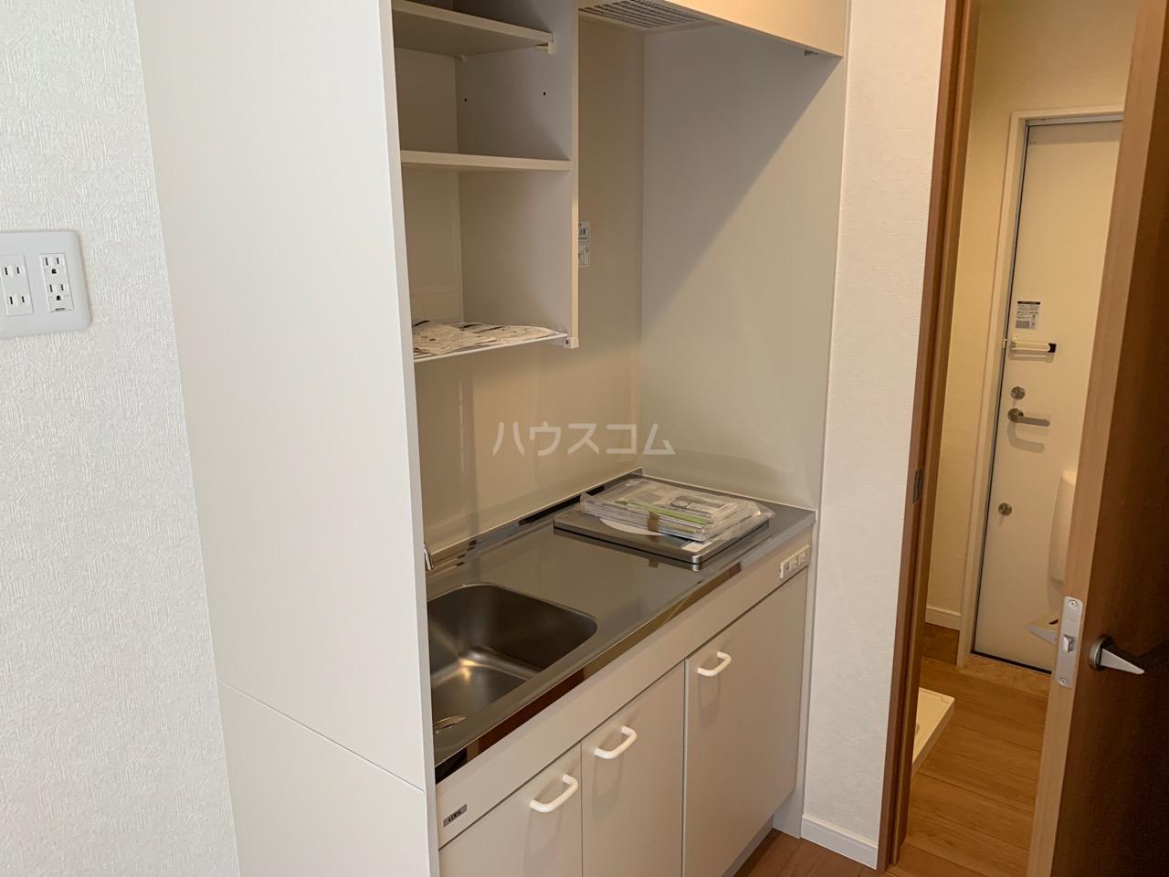 ファインホース白百合 102号室のキッチン