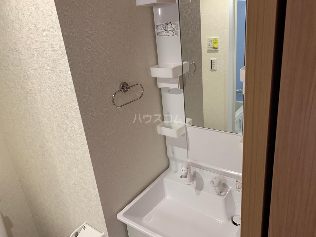 ファインホース白百合 102号室の洗面所