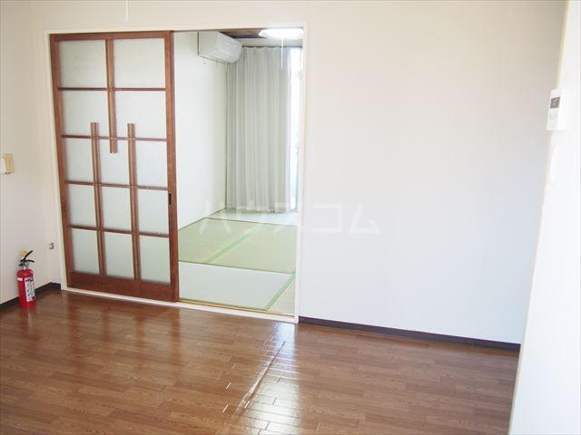 ときわ荘 2-1号室の玄関