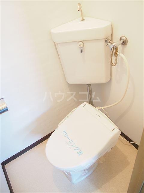 ときわ荘 2-1号室のトイレ
