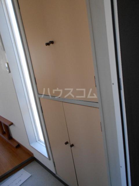 グリーンハイツ稲 202号室の玄関